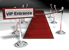 VIP Hosted Entry