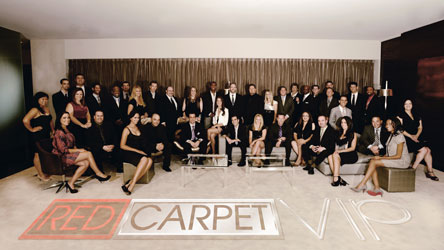 Meet the Red Carpet VIP Team