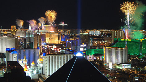 NYE Vegas Travel Info