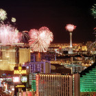4th of July Fireworks in Vegas!