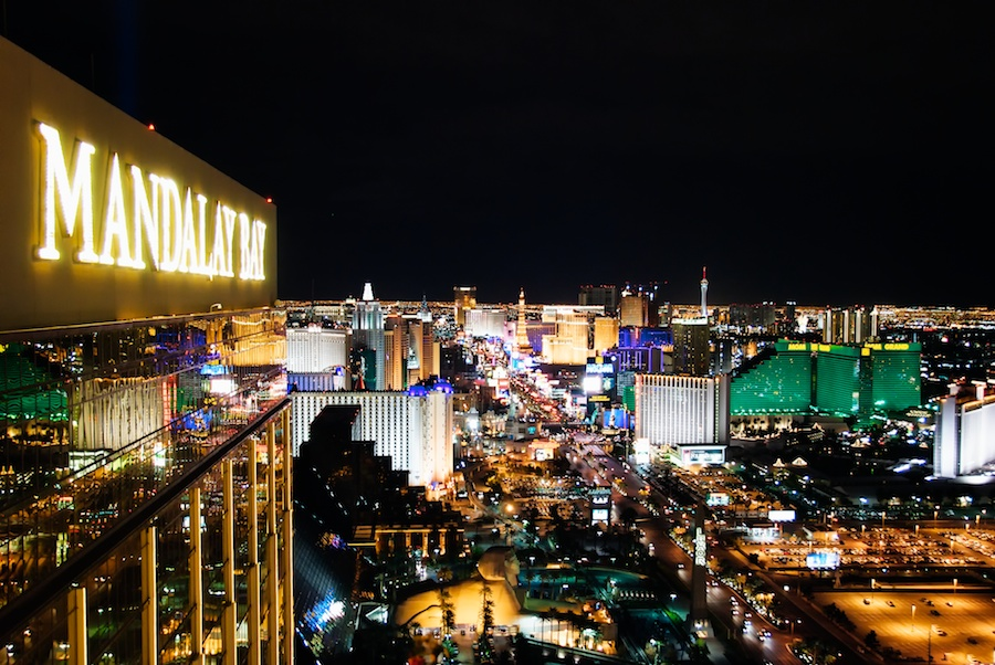 Strip View From The Foundation Room