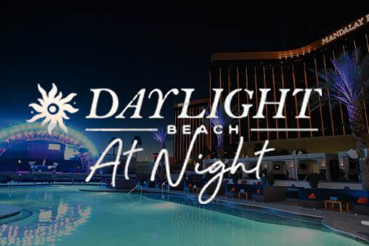 las vegas pool party night swim venue daylight beach at night